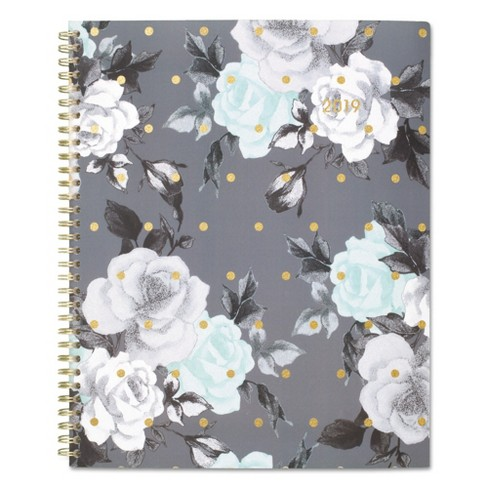 "2019 Planner 8.5""x 11"" Tea Time Gold/White - Cambridge - image 1 of 2"
