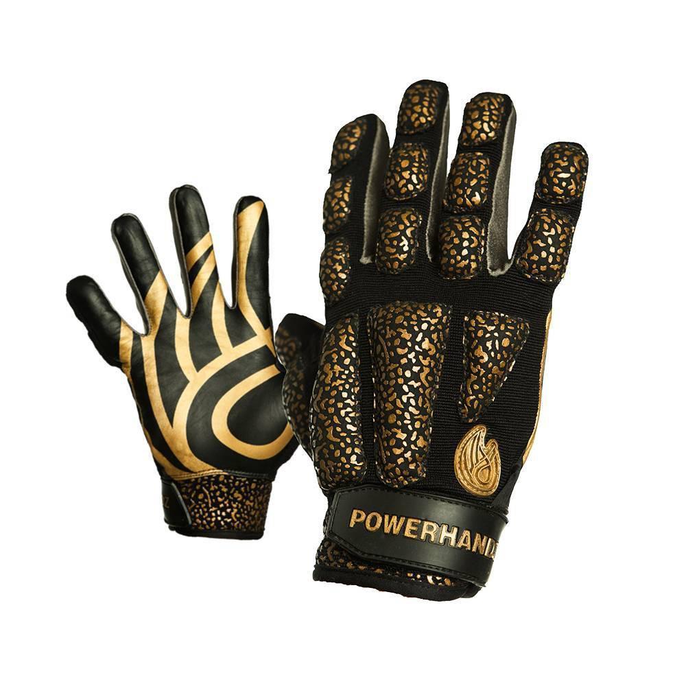 Powerhandz Anti Grip Football Weighted Training Gloves Xxxl