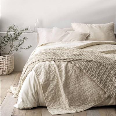 Full Queen Heavyweight Linen Blend, New Linen Bedding Target