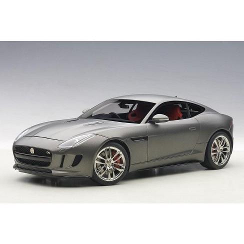 2015 Jaguar F-Type R Coupe Matt Grey 1/18 Model Car by Autoart - image 1 of 4