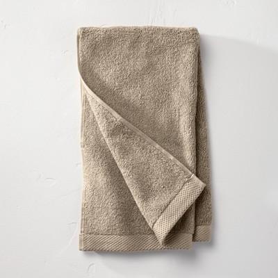 Organic Hand Towel Dark Sand - Casaluna™