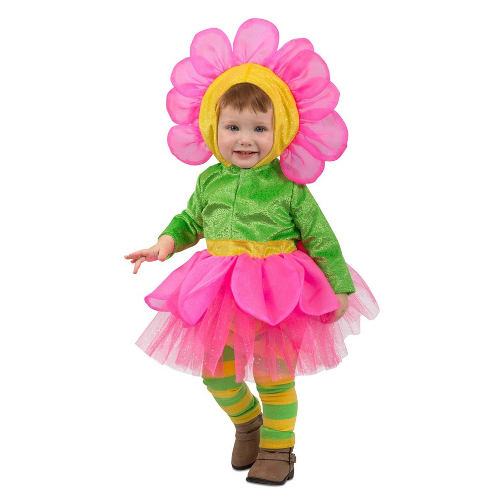 Toddler Bright Flower Halloween Costume 2T, Toddler Girl's, Multi-Colored