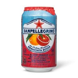 Blood Orange Sparkling Juice 11.15 Oz - San Pellegrino