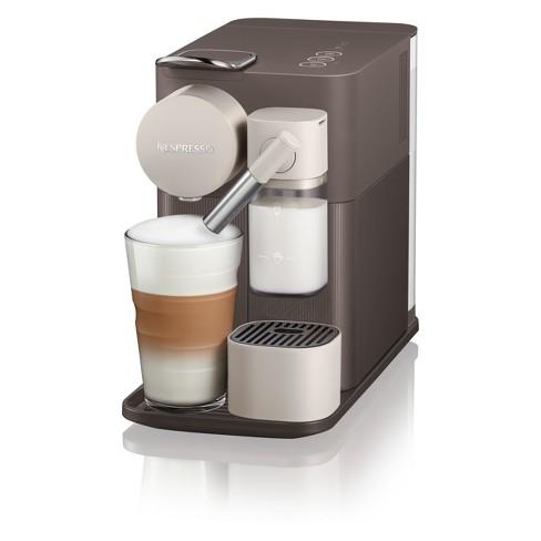 nespresso lattissima one espresso machine warm slate by de 39 longhi target. Black Bedroom Furniture Sets. Home Design Ideas