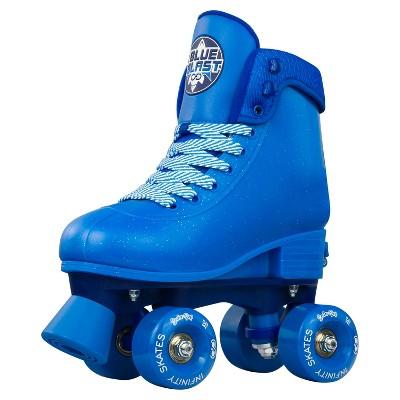 Crazy Skates Blue Blast (Glitter Blue) Soda Pop Adjustable Roller Skates For Girls And Boys - Adjusts To Fit 4 Shoe Sizes