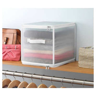 Ordinaire Whitmor Collapsible Zip Cube Clothing Storage Boxes : Target