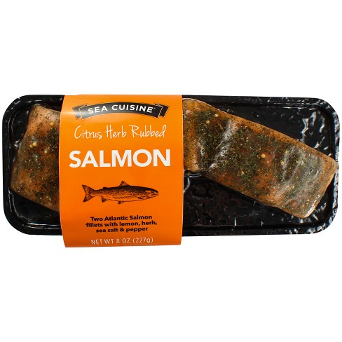 Sea Cuisine Citrus Herb Rubbed Salmon - 8oz - image 1 of 1