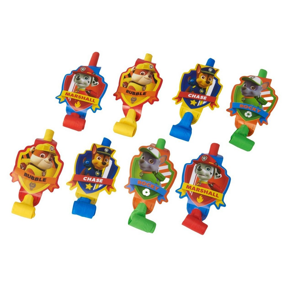 8ct Paw Patrol Party Blowouts