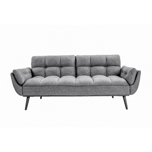 Carly Convertible Sofa Dark Gray - Lifestyle Solutions - image 1 of 7