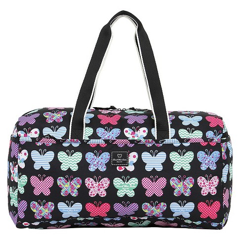 "French West Indies 21"" Soft Duffel Bag - Butterfly - image 1 of 3"