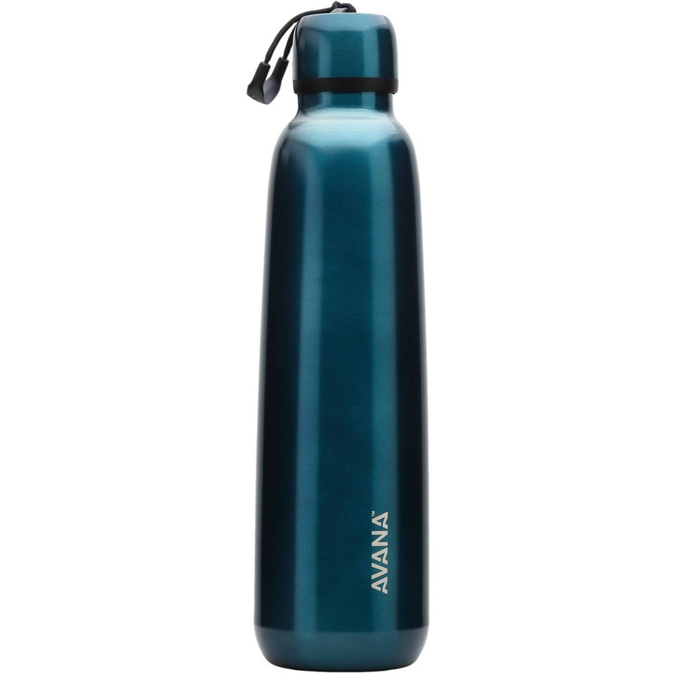 Image of Avana 24oz Stainless Steel Water Bottle Blue