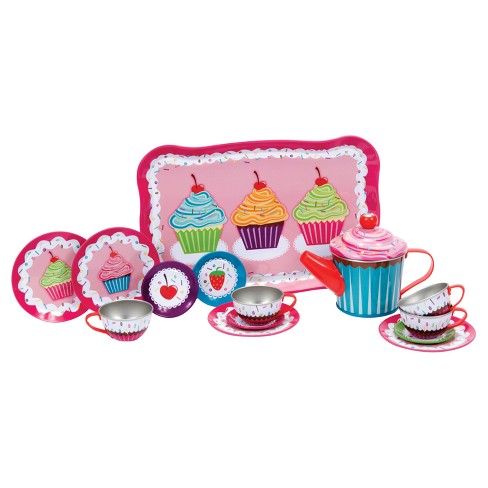 Schylling Cupcake Tin Tea Set - image 1 of 3