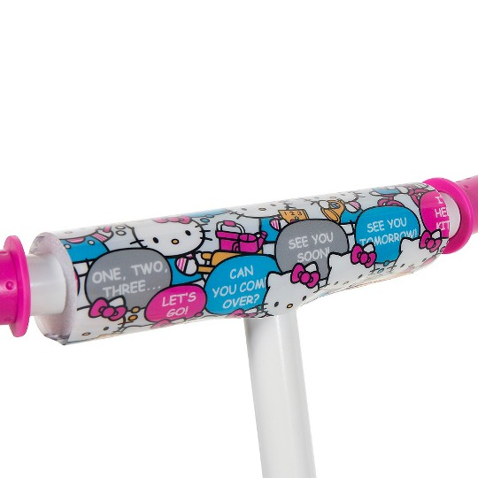 """Hello Kitty 2in1 Balance Bike and Scooter - Pink (10""""), Kids Unisex"" image number null"