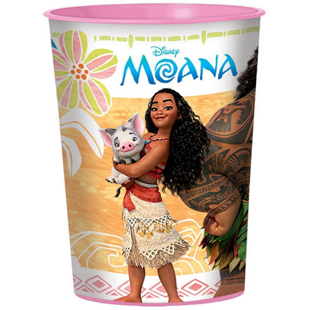 Image of Moana 16oz Plastic Favor Cup