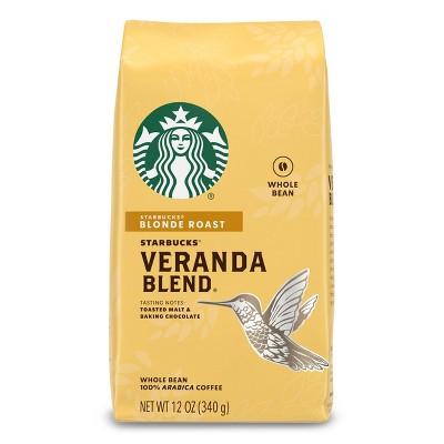 Starbucks Veranda Blend Blonde Light Roast Whole Bean Coffee - 12oz