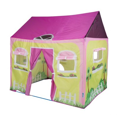 """Pacific Play Tents Cottage House Kids Play Tent 58"""" x 48"""""""