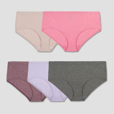Fruit of the Loom Women's Beyondsoft Hipsters 5pk - Colors May Vary