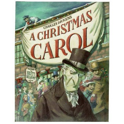 A Christmas Carol - by  Charles Dickens (Hardcover)