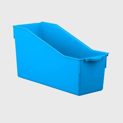 4ct Connected File Folder Blue - Bullseye's Playground™