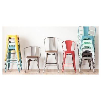 Marvelous Carlisle Metal Dining Collection Target Pdpeps Interior Chair Design Pdpepsorg