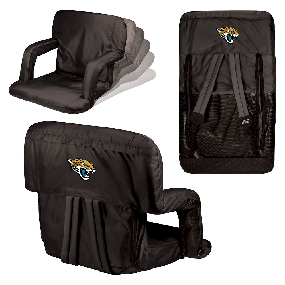 Jacksonville Jaguars Ventura Seat Portable Recliner Chair By Picnic Time