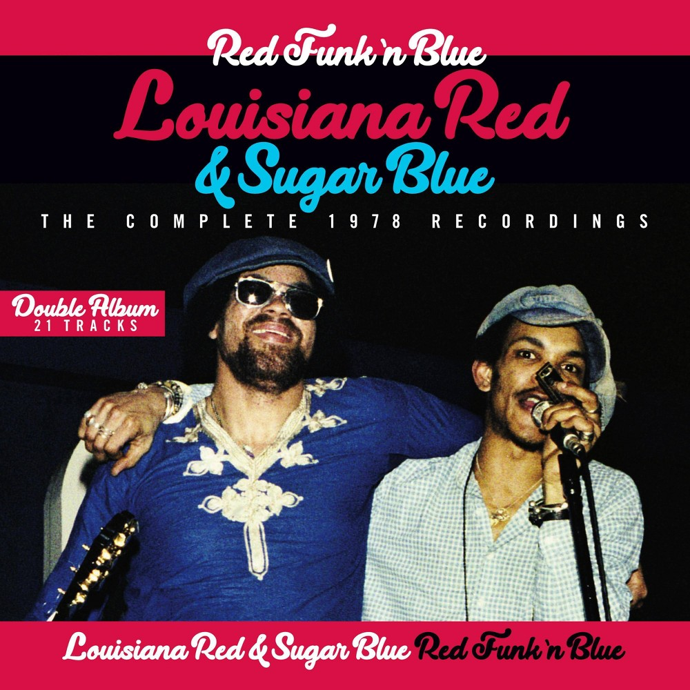 Louisiana Red Sugar Blue Red Funk N Blue The Complete 1978 Recor Cd