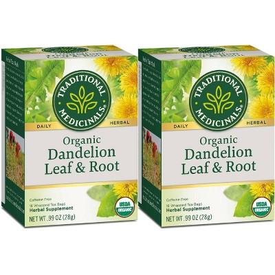 Tea Bags: Traditional Medicinals Dandelion Tea Bags