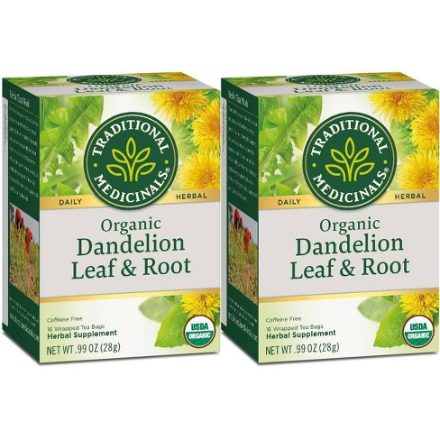 Traditional Medicinals Dandelion Leaf & Root Organic Tea - 32ct - image 1 of 1