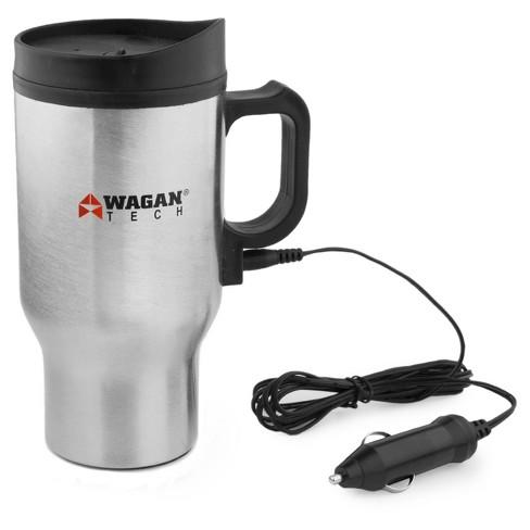 Wagan 12V Travel Mug - Silver - image 1 of 3