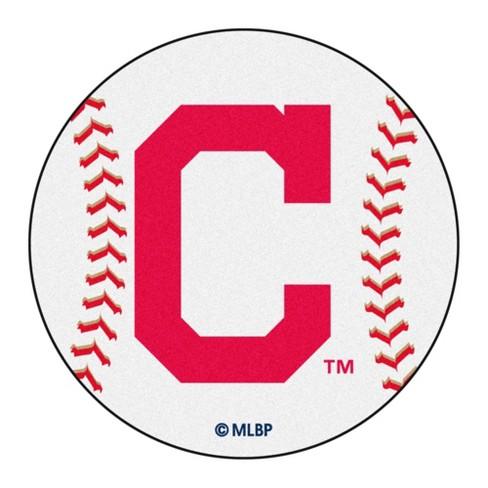 "MLB Cleveland Indians Baseball Mat 27"" Diameter - image 1 of 4"