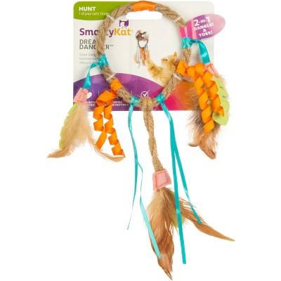 SmartyKat® Dream Dangler Jute and Feather Cat Toy