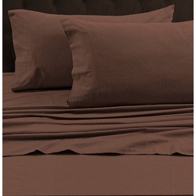 Flannel Solid Pillowcase - Tribeca Living