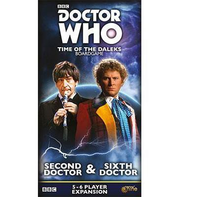 Second & Sixth Doctors Expansion Board Game