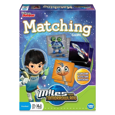 Disney Miles From Tomorrow Matching Game - image 1 of 4