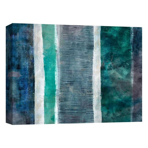 "Emerald Decorative Canvas Wall Art 11""x14"" - PTM Images - image 1 of 1"