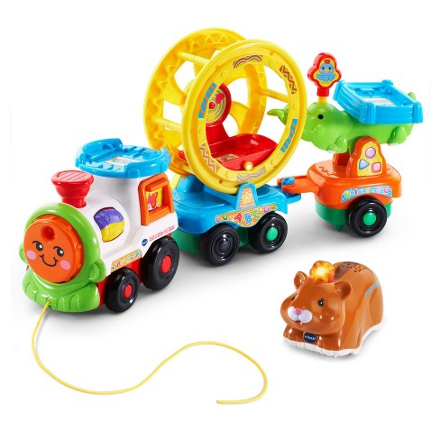 VTech® Go! Go! Smart Animals Roll & Spin Pet Train - image 1 of 5