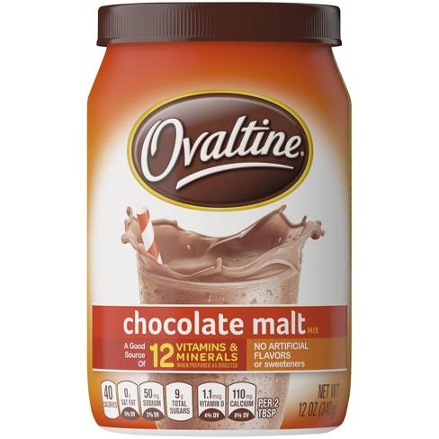 Ovaltine Chocolate Malt Mix - 12oz - image 1 of 4