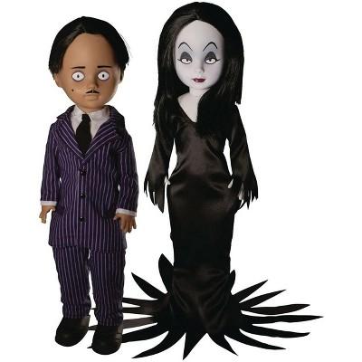 Mezco Toyz LDD Living Dead Dolls Presents The Addams Family | Gomez & Morticia