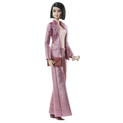Barbie Signature Styled By Chriselle Lim Collector Doll In In Pink Pant Suit by Barbie