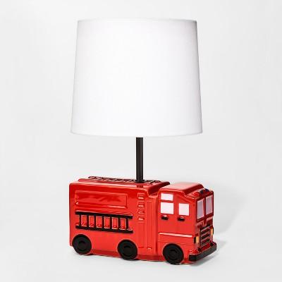 Firetruck Figural Table Lamp - Pillowfort™