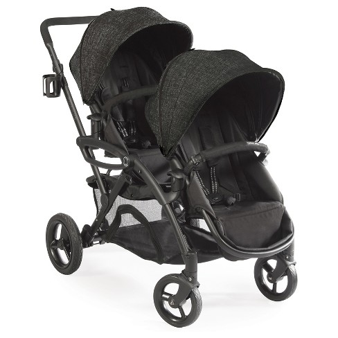 Contours Options Elite Tandem Double Stroller - Carbon - image 1 of 4