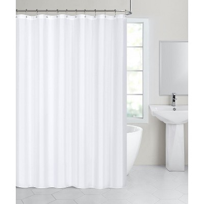 Hotel Collection Fabric Shower Curtain Liners With Reinforced Hook Holes