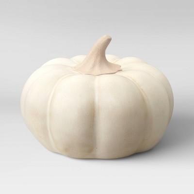 Small Ceramic Pumpkin Cream - Threshold™