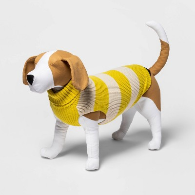 Dog and Cat Cableknit Sweater - Mustard - Boots & Barkley™