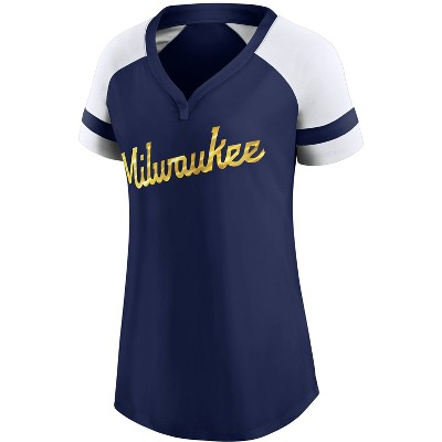 MLB Milwaukee Brewers Women's One Button Jersey