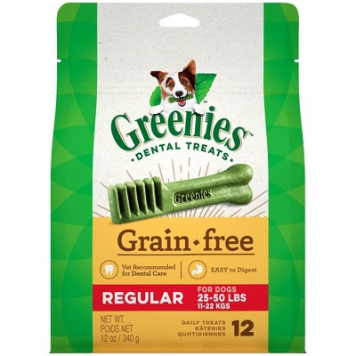 GREENIES® Grain Free Chicken Dental Dog Treats