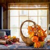 """National Tree Company Maple Leaf and Pumpkin Room Décor Red/Orange (22"""") - image 2 of 2"""