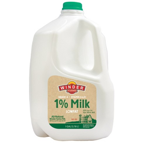 Winder Farms 1% Milk - 1gal - image 1 of 1
