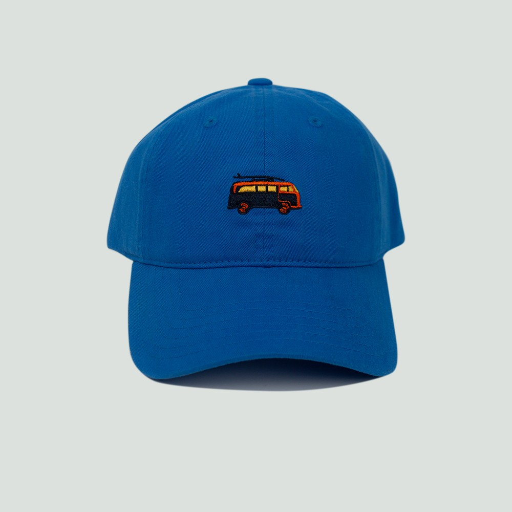 Image of Men's Van Dad Hat - Royal Blue One Size