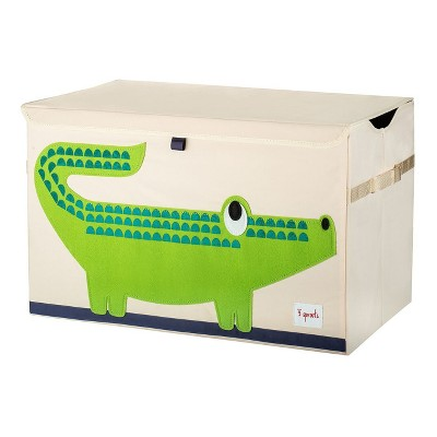 Crocodile Collapsible Storage Toy Bin - 3 Sprouts